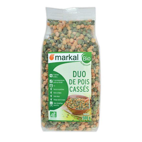 Đậu hà lan hữu cơ xanh vàng Markal