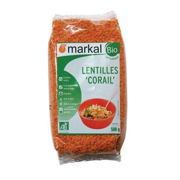 Đậu lăng đỏ hữu cơ Markal