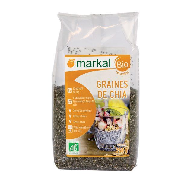 Hạt chia hữu cơ Markal
