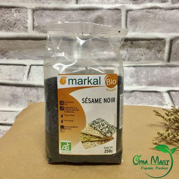 Hạt mè đen hữu cơ Markal