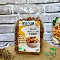 Ngũ cốc giòn socola hữu cơ markal