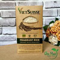 gạo trắng hữu cơ