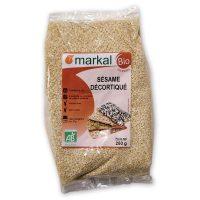 Hạt mè tách vỏ hữu cơ Markal
