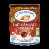 Sữa hạnh nhân hạt dẻ hữu cơ La mandorle