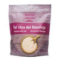 muối hồng hạt mịn himalaya naturgreen