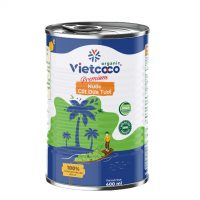 Nước cốt dừa hữu cơ đóng lon Vietcoco 400ml - Omamart.vn