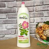 Nước rửa chén hương hoa hồng Almawin