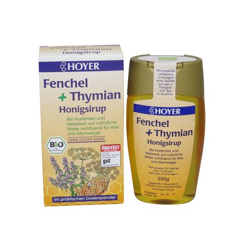 Siro mật ong trị ho hữu cơ Hoyer (250ml)