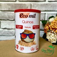 Sữa bột diêm mạch, quinoa không đường hữu cơ Ecomil