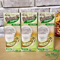 Sữa gạo hữu cơ không đương