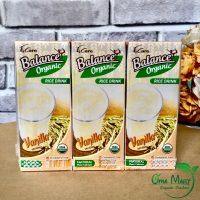 sữa gạo hữu cơ vị vani