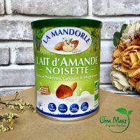 Sữa hạnh nhân hạt phỉ hữu cơ La Mandorle