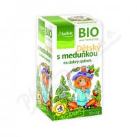 Trà ngủ ngon cho bé hữu cơ Apotheke (20 gói)