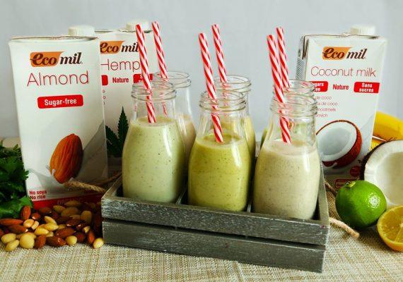sữa thực vật hữu cơ không đường