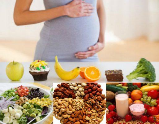 thực phẩm dành cho phụ nữ mang thai