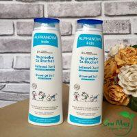 Sữa tắm gội hữu cơ trẻ em alphanova kids