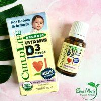 Vitamin D3 hữu cơ