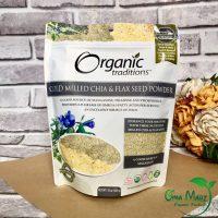 Bột hạt chia và lanh nảy mầm hữu cơ Organic Traditions