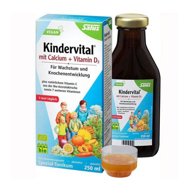 Dung dịch bổ sung canxi và vitamin d3 hữu cơ Salus