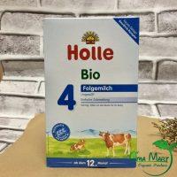 Sữa bò công thức hữu cơ Holle