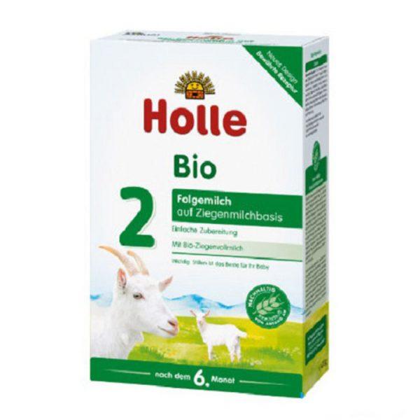 Sữa dê công thức hữu cơ Holle số 2