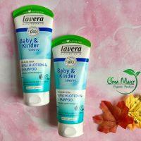 Sữa tắm gội cho bé hữu cơ Lavera