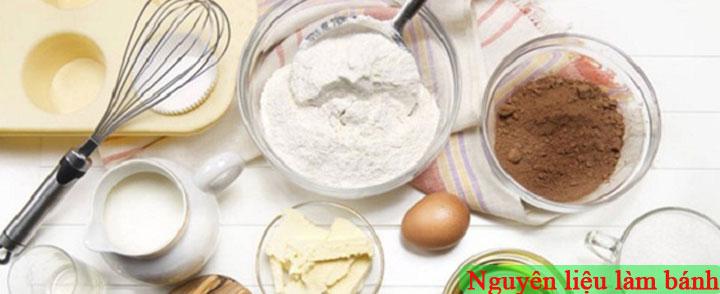 Nguyên liệu làm bánh hữu cơ