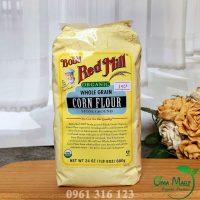 Bột bắp hữu cơ nguyên cám Bob Red Mill