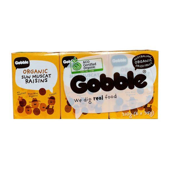 Nho khô hữu cơ Gobble