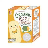 Bánh gạo hữu cơ hương Bí Đỏ Apple Monkey