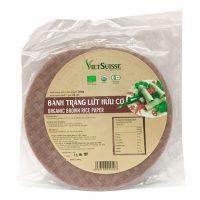 Bánh tráng gạo lứt hữu cơ Vietsuisse 200g
