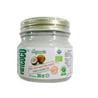 Dầu dừa hữu cơ ép lạnh dạng hũ Vietcoco 200ml