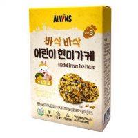 Gia vị rắc cơm cho bé hữu cơ Alvins vị Gà