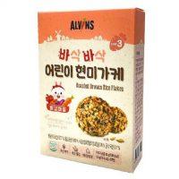 Gia vị rắc cơm cho bé hữu cơ Alvins vị Tôm